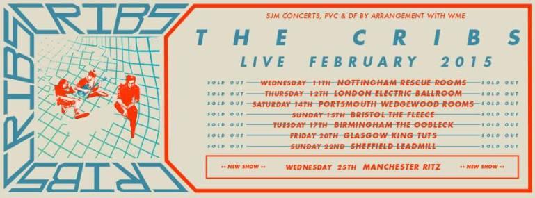 The Cribs Tour