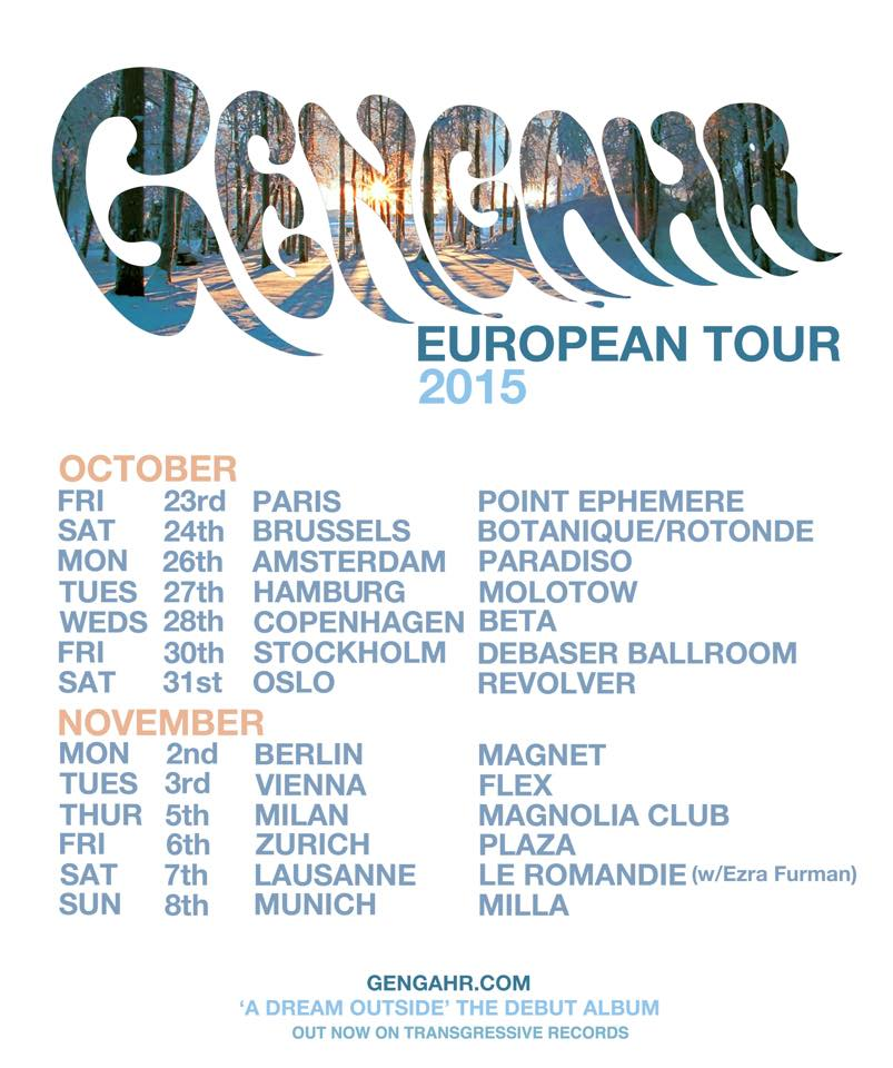 gengahr tour dates