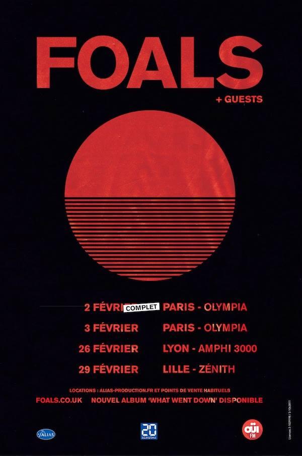 foals tour