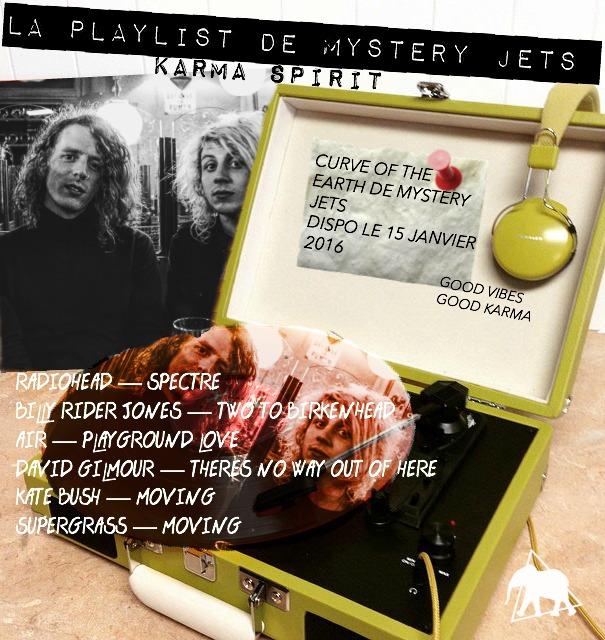 PLAYLIST MYSTERY JETS