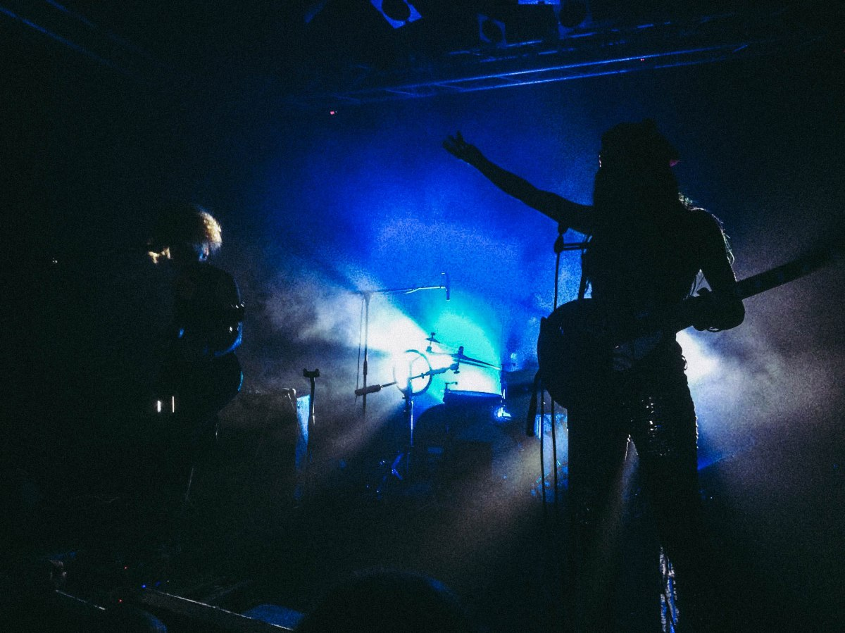 Live report : Nova Twins + GRIT @ Le Point Éphémère, Paris 16/11/2017